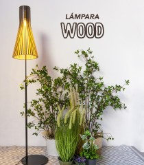 Lámpara de Pie Wood
