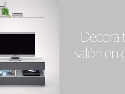 Decorar tu salón en gris, ideas